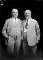 רבינצקי (מימין) וביאליק (אוסף סוסקין)