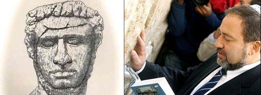 ״כשאתה נוגע באבנים שלי, מר ליברמן, זכור שיש אנשים עם לב של אבן״.שר החוץ אצל הכותל המערבי של הורדוס הגדול