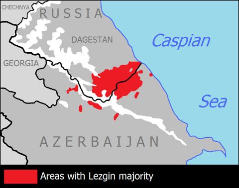 הלזגינים של דגסטן ושל אזרבייג׳ן