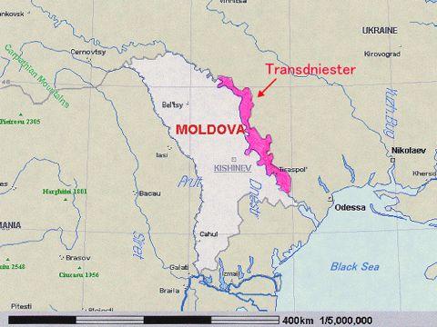 מפת טראנסדניסטריה