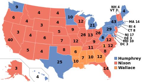 הבחירות לנשיאות בארה״ב, 1968